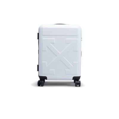 Off-White Off-White Quote Luggage Suitcase 'FOR TRAVEL' White