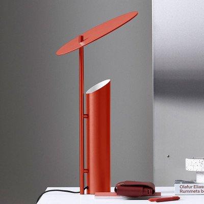 Verpan VERPAN Reflect tafellamp, rood