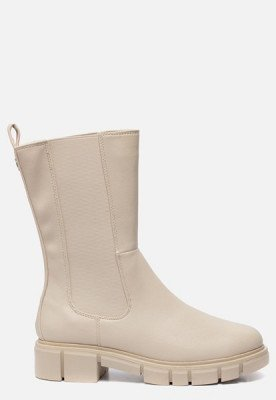 marco tozzi Marco Tozzi Hoge Chelsea boots wit