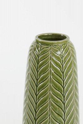 Light en Living Light & Living Vaas 'Lilo' 48cm, kleur Groen