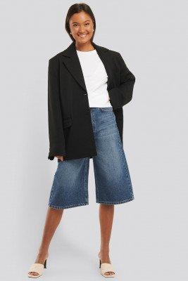 NA-KD Trend NA-KD Trend Culotte Jeans - Blue