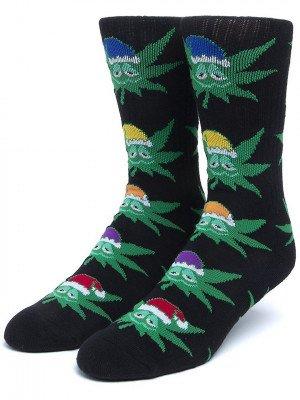 HUF HUF Green Helpers Socks zwart