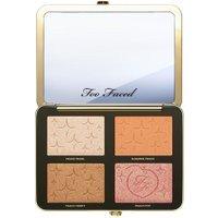 Too Faced Sugar Peach Face & Eye Palette - oogschaduw & highlighter palette