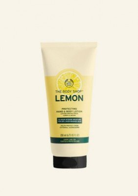 The Body Shop NL Lemon Protecting Hand & Body Lotion 200 ML