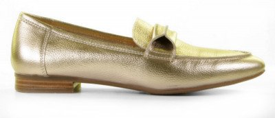 Si Si Harmonee-2 Gold Damesloafers