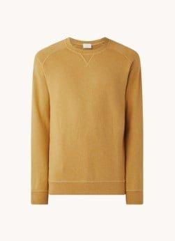 Profuomo Profuomo Sweater van katoen