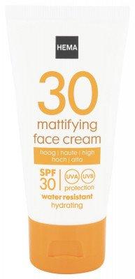 HEMA Face Sun Cream Mattifying SPF 30 - 50 Ml