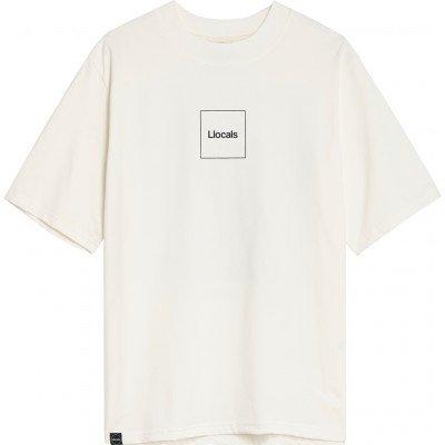 Llocals Llocals Mona Lisa Sliding Puzzle Off-white T-Shirt