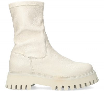 Bronx Witte Bronx Chelsea Boots Groov-y 47358