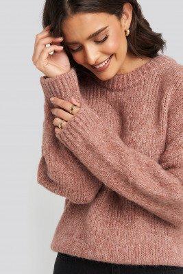 Mango MANGO Darya Sweater - Pink