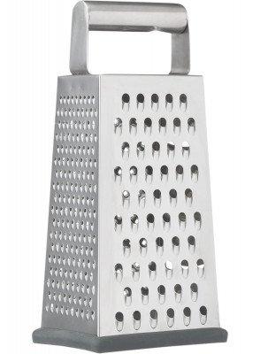 HEMA Rasp Vierkant - 9 X 12 - RVS (zilvergrijs)