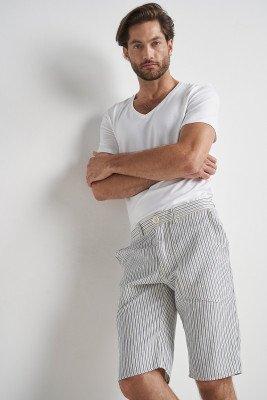 Komodo 100% Organic Konnect Shorts Pin Stripe