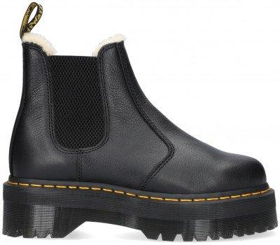 Dr Martens Zwarte Dr Martens Chelsea Boots 2976 Quad Fl