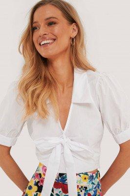 Trendyol Bow Detail Blouse - White