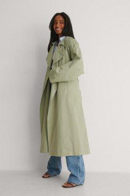 Mango MANGO Trenchcoat - Green