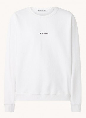 Acne Studios Acne Studios Fierre sweater met logoprint