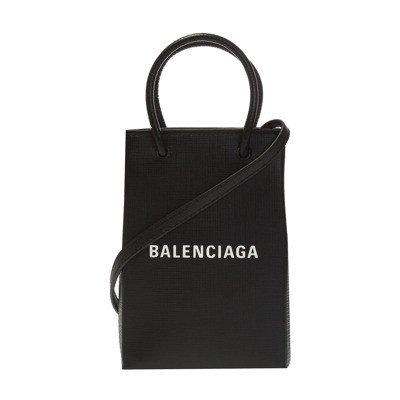 Balenciaga 'Shopping' phone holder