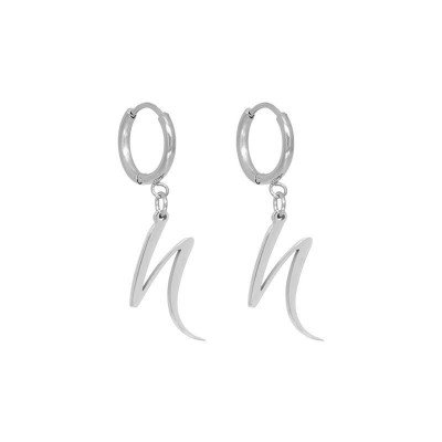 Nola Amsterdam THE NOLA EARRINGS. - limited edition - Silver