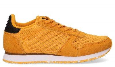 Woden Woden Ydun WL030 Geel Damessneakers