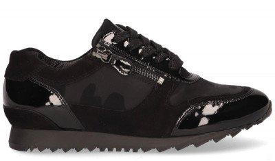 Hassia Hassia Barcelona Zwart Damessneakers