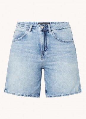 drykorn DRYKORN Caba high waist straight fit korte broek van denim