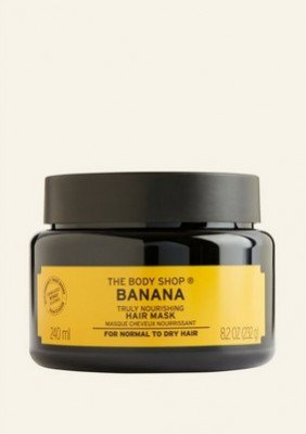 The Body Shop NL Banana Truly Nourishing Hair Mask 240 ML