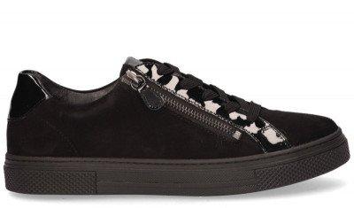 Hassia Hassia Bilbao Zwart Damessneakers