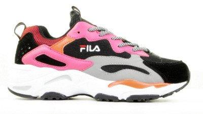 FILA FILA Ray Tracer Zwart/Roze Damessneakers