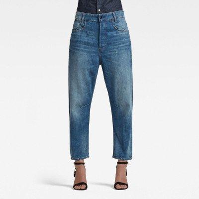 G-Star RAW C-Staq 3D Boyfriend Cropped Jeans - Lichtblauw - Dames