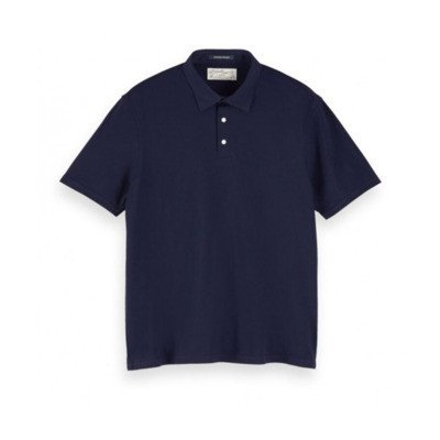 Scotch & Soda Chic jersey polo shirt 0002