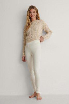 NA-KD Basic NA-KD Basic Legging - Offwhite