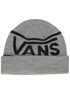 Vans Vans Drop V Stripe Cuff Beanie grijs