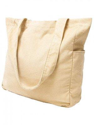 Rhythm Rhythm Corduroy Tote Bag grijs