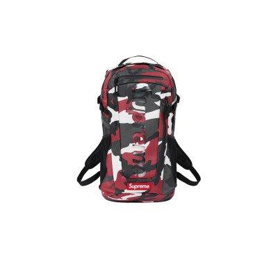 Supreme Supreme Backpack Red Camo (SS21)