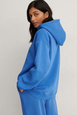 NA-KD Trend NA-KD Trend Organisch Organisch Oversized Hoodie - Blue