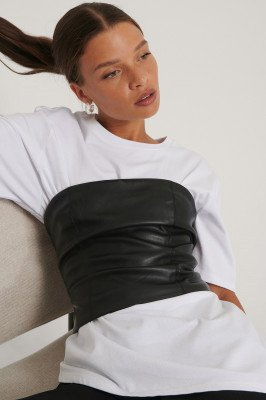 NA-KD Trend Korset - Black