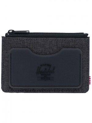 Herschel Herschel Oscar Rubber RFID Wallet zwart
