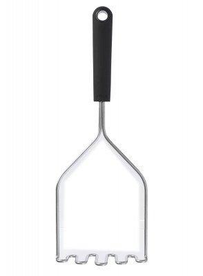 HEMA Aardappelstamper - 31 Cm - Metaal (zwart)