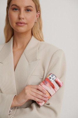 NA-KD Accessories NA-KD Accessories Printed Phone Case - Pink