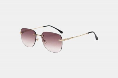 Blank-Sunglasses NL IBIZA. - Gold with brown