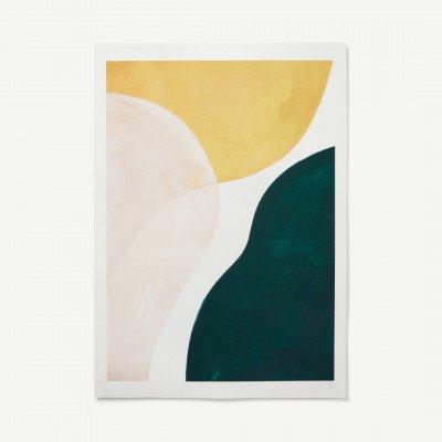 MADE.COM Transparent Rose door Berit Mogensen Lopez, print, 50 x 70 cm