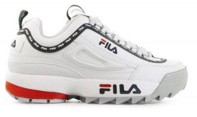 FILA FILA Disruptor Low Logo Wit Damessneakers