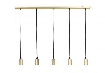 Light en Living Light & Living Hanglamp 'Brandon' 5-Lamps, kleur Brons