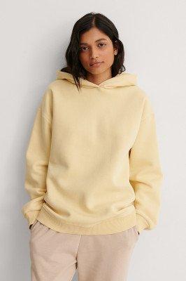 NA-KD Trend NA-KD Trend Organisch Organisch Oversized Hoodie - Yellow