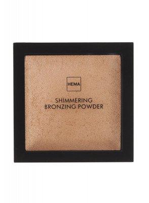 HEMA Shimmering Bronzing Powder Gold (brons)