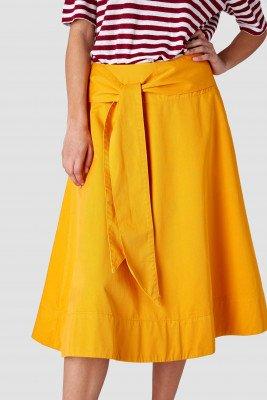 Kings of indigo Kings of Indigo - TIGERLILY skirt Women - Yellow