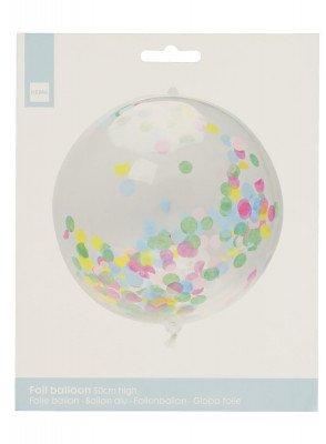 HEMA Folieballon Met Confetti 50 Cm