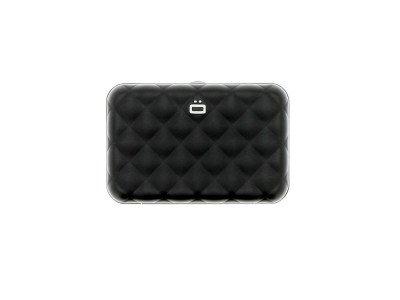 Ogon Designs Ogon Dames Creditcardhouder Quilted Button Black