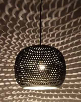 Urban Interiors Urban Interiors hanglamp 'Spike Bol Zink' Ø27cm