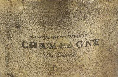 Light en Living Light & Living Champagnekoeler 'Cristal', antiek brons